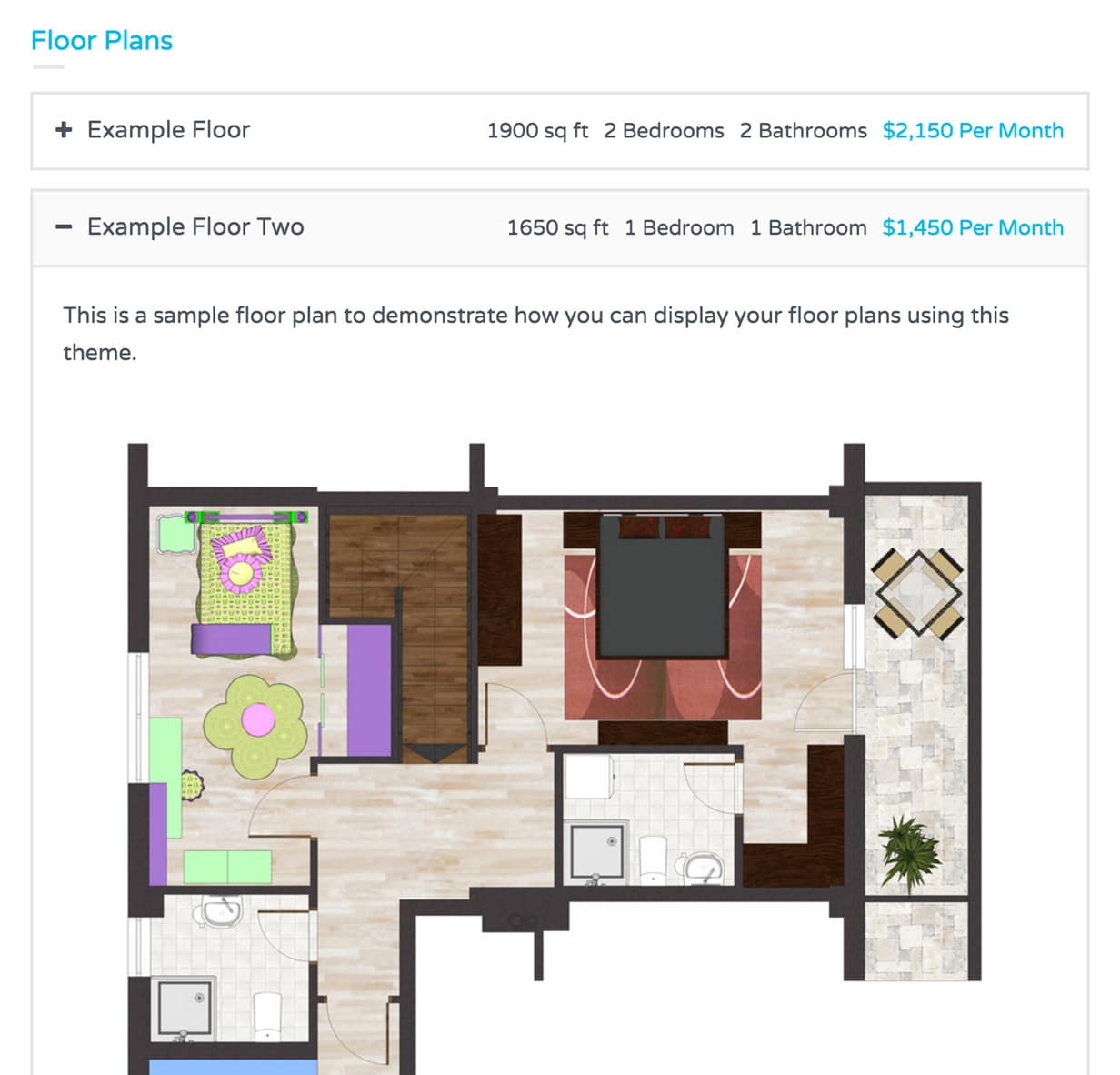 Flexibility to Add Floor Plans
