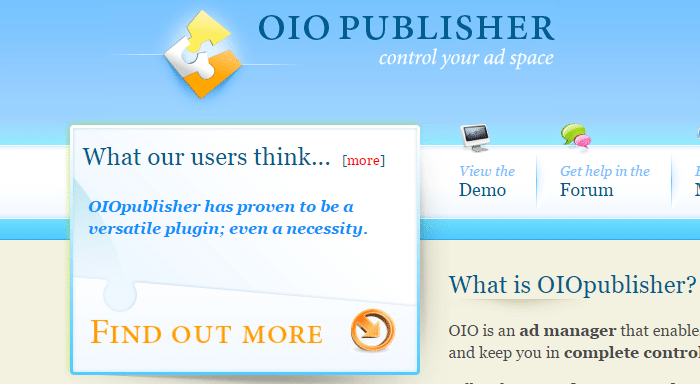 oiopublisher plugin