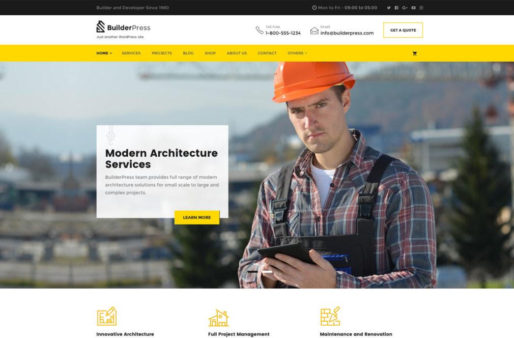 BuilderPress WordPress Theme