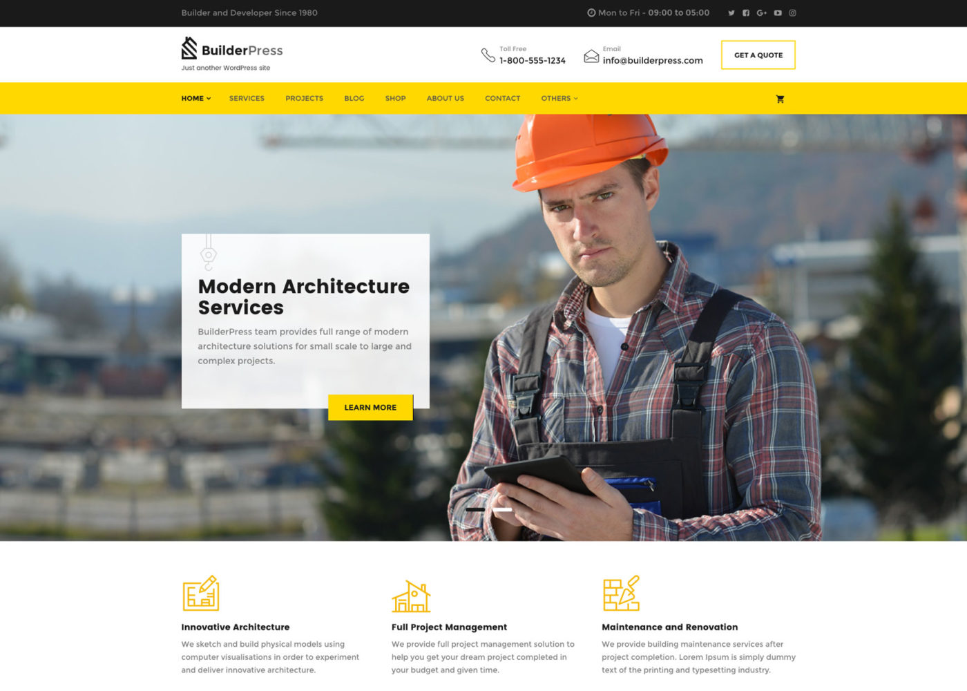 BuilderPress WordPress Theme